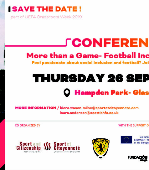 FIRE's 'More than a Game- Football Including REfugees' event to be held in Hampden Park!