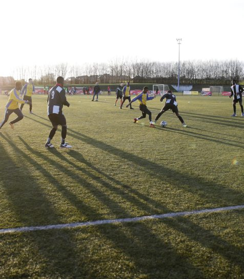 Grassroots football interventions become part of the European project FIRE!